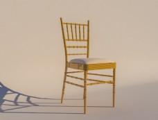 竹节椅模型