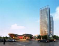 时尚繁华城市商业中心设计图