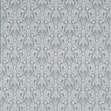 蓝色背景精美花纹壁纸素材