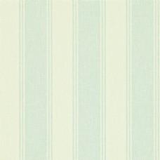 天蓝色条纹布艺壁纸