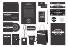 黑色简约企业VI设计
