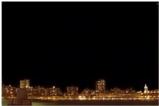 闪亮的城市烟花影视片头模板