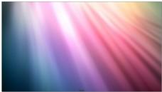 五彩缤纷的梦幻渐变光效背景中白色光线
