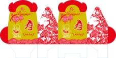 老寿星喜糖盒