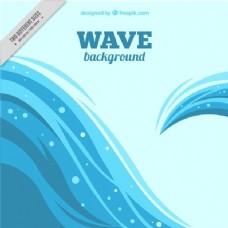 不规则设计波浪背景