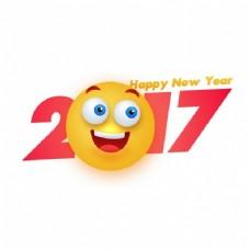 新年的笑脸背景