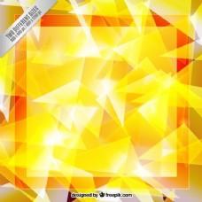 黄色抽象几何背景