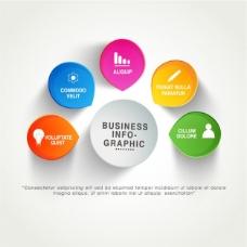 商业图表模板与多姿多彩的阶段