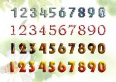 123数字艺术字