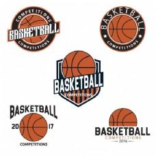 篮球logo模板