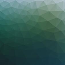 蓝绿多边形背景