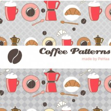 矢量咖啡图标设计