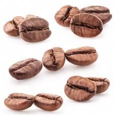不同形态的高清咖啡豆素材
