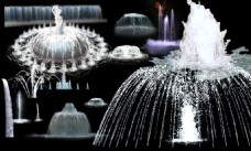 喷泉效果素材
