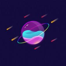 流星液體星球