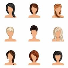 女人的发型集合