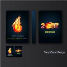 火焰球封面设计