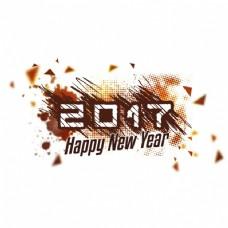新年背景迷离