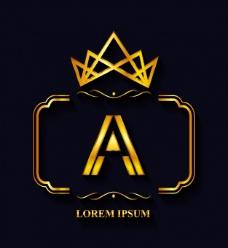 金色的logo模板