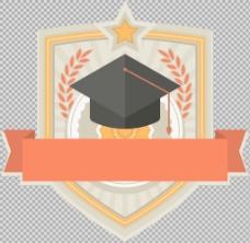 毕业主题图标免抠png透明图层素材