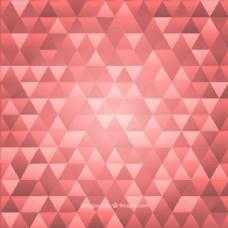 现代的三角形背景