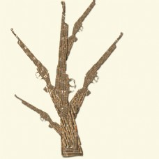 手工搭建的树枝