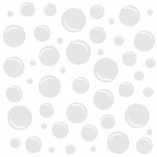 白色背景气泡