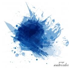 水彩画的背景设计