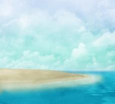 海滩背景图片素材