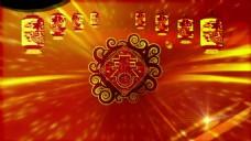 羊年新年春节元旦晚会通用开场片头迎新春