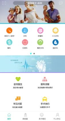 医疗卫生App首页