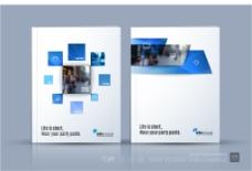 简约商务企业画册封面