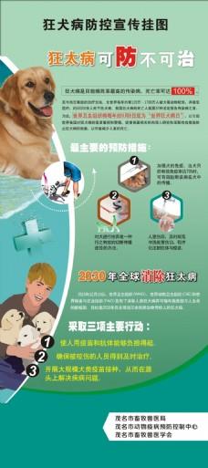 狂犬病宣传挂图
