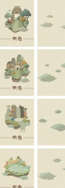 手绘书籍封面插画