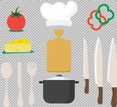 各种厨具图片免抠png透明图层素材