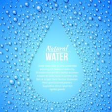 水滴背景设计