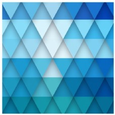 蓝色三角形背景