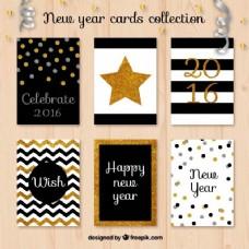 新年贺卡收藏