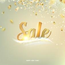 新年销售背景