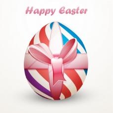 可爱的复活节彩蛋背景