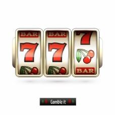 赌博的背景设计