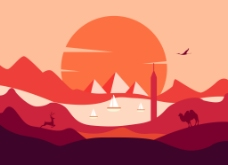 日落风景图