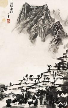 中国画 李可染 画家