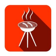 烤香肠图标图片