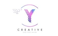 彩色字母Y标志图片