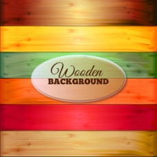 彩色木板背景纹理图片