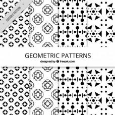黑白几何图形集合