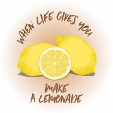 柠檬引用背景