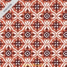 蜡染几何图形装饰图案