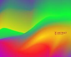 抽象的彩虹色背景